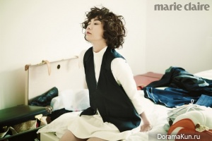 Bae Doo Na для Marie Claire Korea September 2012
