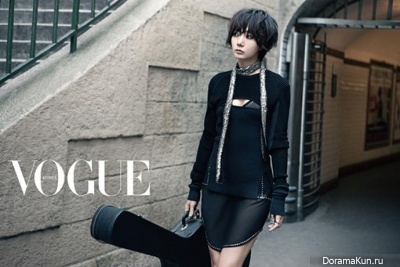 Bae Doo Na для Vogue Korea November 2013