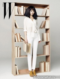 Bae Doo Na для W Korea April 2013