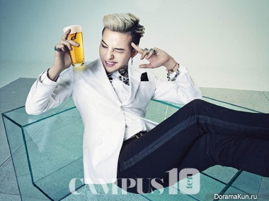Big Bang (G-Dragon) для Campus10 April 2014