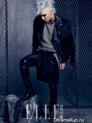 Big Bang (Taeyang) для Elle Korea November 2013 Extra