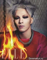 Big Bang (Taeyang) для Elle Korea November 2013
