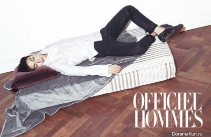 Big Bang (T.O.P) для L'Officiel Hommes Korea November 2013