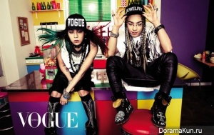 G-Dragon, Taeyang (Big Bang) для Vogue March 2013