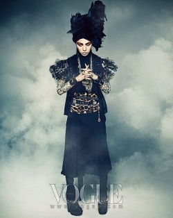 Big Bang's G-Dragon для Vogue Korea December 2009