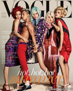 Big Bang (Taeyang) для Vogue Magazine July 2014