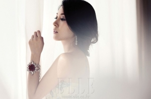 BoA для Elle Korea May 2012
