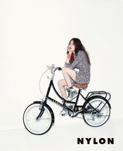 BoA для Nylon Korea July 2012