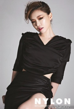 Ga In (Brown Eyed Girls) для NYLON August 2013