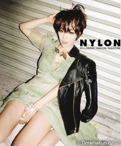 Ga In (Brown Eyed Girls) для NYLON December 2012