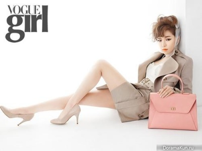 Ga In для Vogue Girl March 2013