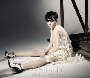 Brown Eyed Girls для Vogue Korea November 2011
