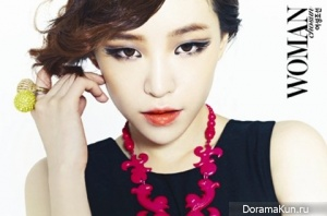 Brown Eyed Girls' Ga In для Woman Chosun September 2012