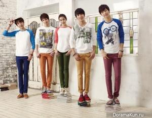 Kang Sora, CNBLUE для BANGBANG Spring 2013 Ads