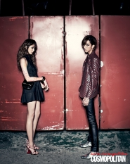 CN Blue's Lee Jung Shin для Cosmopolitan Korea May 2012