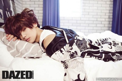 CN Blue (Kang Min Hyuk) для Dazed & Confused Korea May 2013