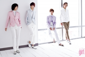 CN Blue для Elle Girl Korea February 2010