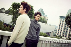 CNBLUE для Marie Claire January 2013 Extra