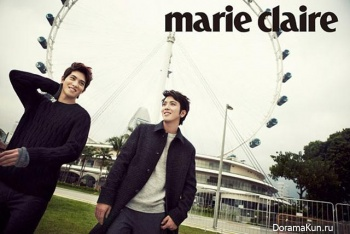 CNBLUE для Marie Claire January 2013