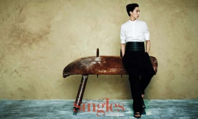 CN Blue's Lee Jung Shin для Singles May 2012