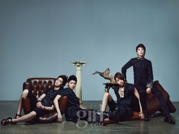 CN Blue для Vogue Girl Korea July 2010