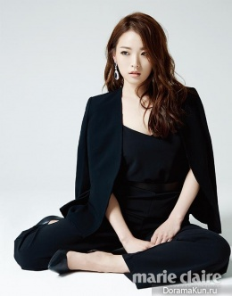 Cheon Woo Hee для Marie Claire May 2014
