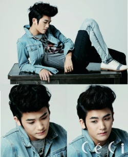 Children of Empire's (ZE:A) Hyungsik для CéCi July 2012