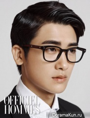 Park Hyeong Sik (ZE:A) для L'Officiel Hommes Korea October 2013