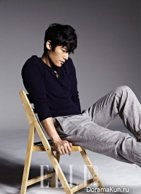 Choi Jin Hyuk для Elle Korea August 2013