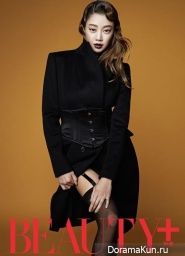 Choi Yeo Jin для Beauty+ Korea September 2013