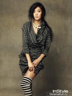 Clara (Lee Seong Min) для InStyle Korea September 2013 Extra