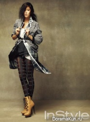 Clara (Lee Seong Min) для InStyle Korea September 2013