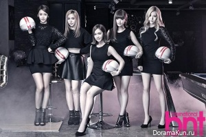Crayon Pop для BNT International February 2014