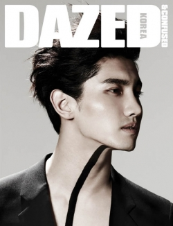 DBSK's Changmin для Dazed & Confused Korea May 2012