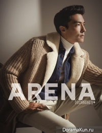 Daniel Henney для ARENA HOMME PLUS September 2012