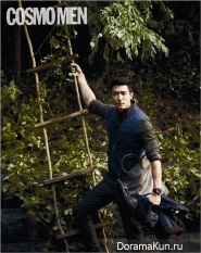 Daniel Henney для Cosmo Men Korea September 2013