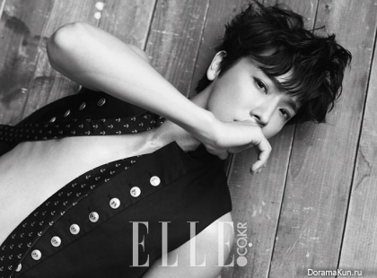 Donghae (Super Junior) для Elle Korea July 2014 Extra