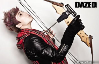 FT Island's Hongki для Dazed & Confused Korea July 2012