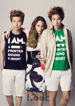 DBSKs Yunho, Super Juniors Leeteuk, SNSDs Seohyun, f(x)s Krystal для First Look Vol. 20