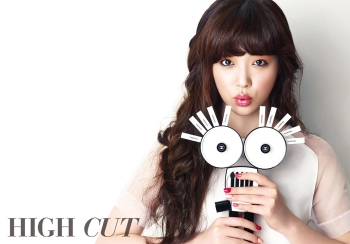 f(x)'s Sulli для High Cut Vol. 75