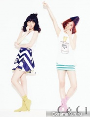Girl's Day для CeCi August 2013