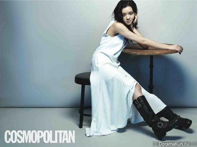 Go Ah Sung для Cosmopolitan Korea July 2013