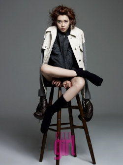 Go Ara для Elle Girl Korea January 2012