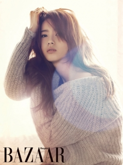 Go Ara для Harper's Bazaar Korea January 2012