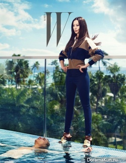 Go Ara для W Korea April 2012