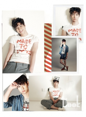 Go Kyung Pyo для First Look Vol. 22