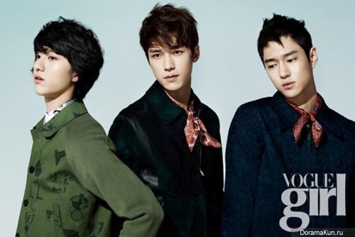 Go Kyung Pyo и др. для Vogue Girl February 2013