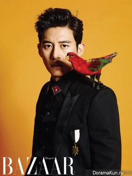 Go Soo для Harper's Bazaar Korea October 2013