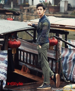 Go Soo для InStyle Korea March 2012