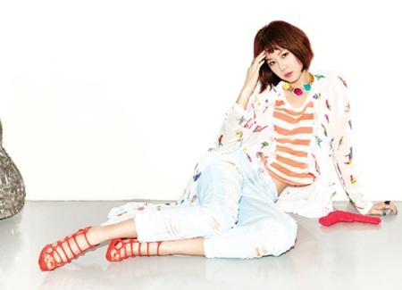 Gong Hyo Jin для Fashion Line 2012